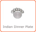 indian dinner plate suppliers