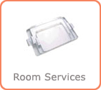 room service trolley and tray suppliers